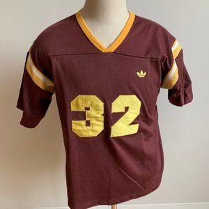 Adidas Mens Tshirt Trefoil originals burgundy #32
